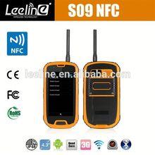 S09 NFC PTT verizon at&t military smartphones,waterproof Smartphone android IP68 Waterproof Dustproof Shockproof