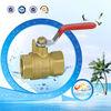 BV forged steel floating ball valve for brass float valves