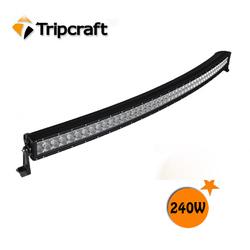 "288w 4x4 led light bar, Arch Bent light bar Off road, 13.5"" 20"" 30"" 40"" 50"" Curved led light bar"