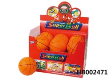 stress ball,4.5-inch pu basketball
