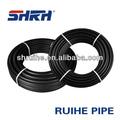 Negro de plástico de agua tubo de rollo de, rollo de polietileno de alta densidad de tubería, tubería de polietileno de rollo