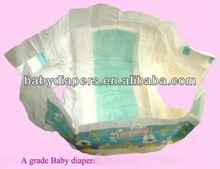 disposable baby diaper with pp side tpae