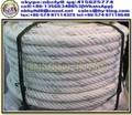 6 capas gratis cuerda cuerda de remolque / nylon remolcador de la cuerda venta / de poliamida de alta resistencia de la cuerda para gratis