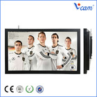65 Inch Ultra HD Indoor Advertising Display TV For Live Broadcast