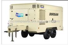 XHP750WCAT-T3 300psi/ 750cfm DOOSAN portable diesel Compressor for driling dig