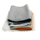 shenzhen nice quality custom microfiber shoes cleaning cloth