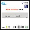 Onvif Linux DVR/HVR/NVR 3 in 1 8ch DVR with H.264 compression p2p