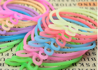 2014 The most popular candy color silicone hair bands