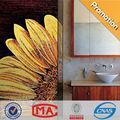 lj jy-jh-s01-a عباد الشمس جدارية فسيفساء بلاط الحمام ادنى sicis للحمامات ديكور صور الرسم على الزجاج