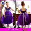 OEM Factory Wholesale Lovely Ball Gown Girls Party Dresses Satin Bow Tulle Flower Girl Dress