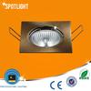 50W GU5.3/GU10 square energy saving spot lighting fixture