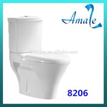 Hot Sale bathroom ceramic Water Closet Size Toilet
