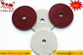 Disco de diamante abrasivo, uso wet diamond polishing pad, bloco de diamante de alta resistência com revestimento protetor de velcro