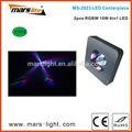 Pcs 4 10w rgbw 4in1 led pieza central/dj luz/discoteca luz
