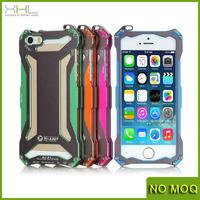 New brand aluminum screw metal bumper case for iphone 5 5s