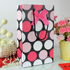 Personalized gift bags bottle bag paper wine bag with bowknot design wholesale