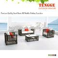 hd projetos ao ar livre mobília ao ar livre do rattan sintético sofá mobiliário conjunto