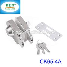 Jinli TOP Security Door Lock for Single Glass Door Lock Cylinder Outdoor Gate Lock Key/Thumb Way CK65-4A