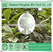 High Purity Ingredients 98% HPLC ursolic acid loquat leaf extract