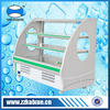 High quality stainless steel plate commercial vegetable refrigerator