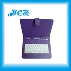 hot sale PU leather keyboard case for 7 inch tablet pc