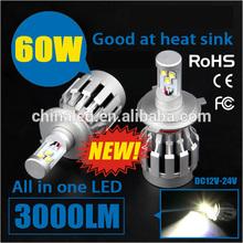 6500K H4 Hi/Low Beam car led light bulbs Car LED Headlight Fog Light For Chevrolet