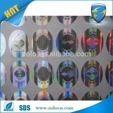 Cheap & Custom Security custom 3d hologram label sticker printing machine