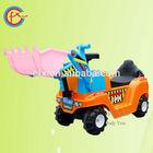 Children fun playing toys pushing car loader 803