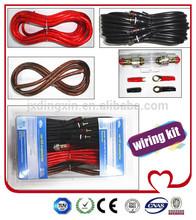 Black PVC Jumper 2 RCA Plug To 2 RCA Plug Audio and Video Cable