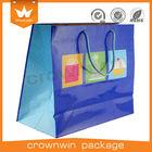 High quality paper gift bag for lingerie supplier