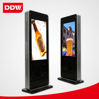 46 inch floor standing lcd advertising player