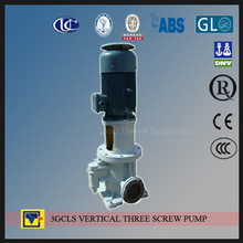 3 double suction GCLS vertical column foot three screw pump