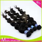 100% virgin human hair extension,Brazilian virgin remy human hair