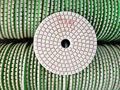 Meuleuse et polisseur de marbre de béton humide, wet diamond disques pour meuleuse d'angle de polissage de granit
