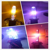 beautiful purple golden blue pink hid lamps xenon hid kit