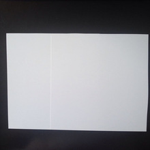White PVC RIGID SHEET FOR CARDS