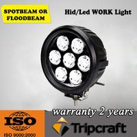 10-30V DC 70W Round led boat flood light 12V led work light for truck