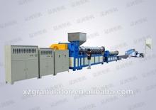 XZSJ 240D waste plastic granulator recycled abs plastic granules plastic granulation line