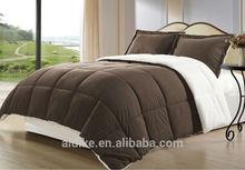 Cozy Beddings 3-Piece Down Alternative Mini Comforter Set