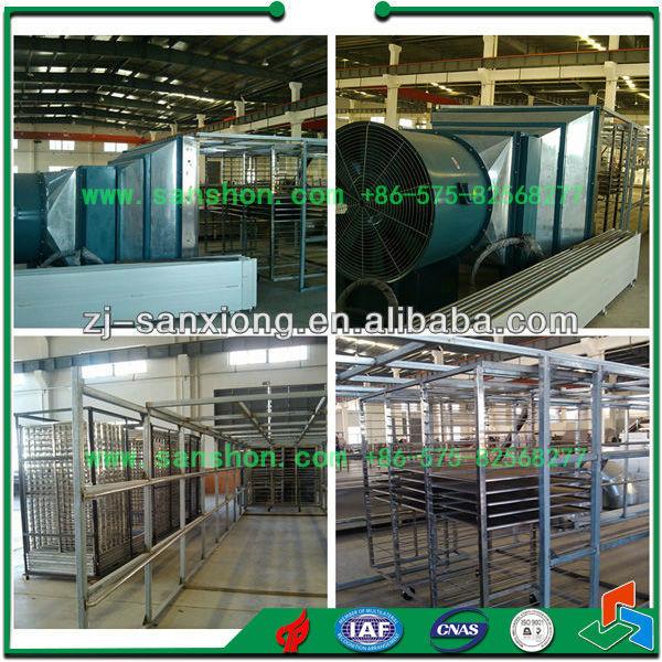 China Hot Air Tunnel Dryer Dehydration Machine