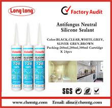 Professional Manufacturer 300ml Neutral antifungus Silicone Sealant
