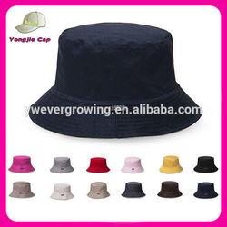 New Arrival Cotton Plain Blank Cheap Golf Custom Bucket Hats Wholesale