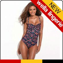WELLA LINGERIE monokini/2014 sexy one piece swimwear