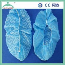 Manufacturer PP / CPE / PE disposable shoe cover with anti-slip