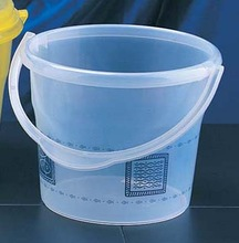3L Plastic water pail/bucket with lids