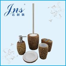 5 pcs ceramic bath room accessories sets