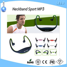 New design neckband sport mp3 player