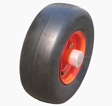 11 x4.00-5 semi pneumatic rubber tire with smooth tread for residential and commercial mowers