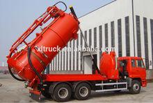 10,000L vacuum trucks for vacuum sucking septic and vacuum suction sewage