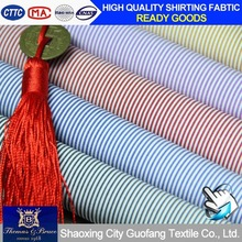 Fully goods in stock - 100% cotton wholesale stripe fabric